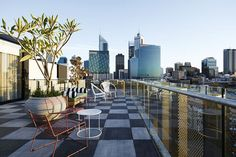 Rooftop terrace in Perth