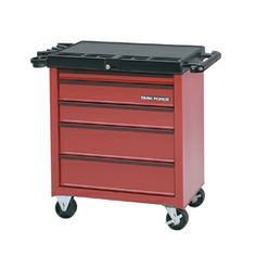 Task Force 32-in x 34-in 5-Drawer Friction Steel Tool Cabinet (Red) $99