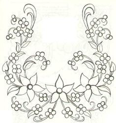 Latest Hand Embroidery Designs Free hand embroidery designs