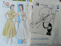 More plans for Vintage Pattern Pledge Vintage Sewing, Sewing Patterns, How To Plan, Retro, Doll Drawing, Vintage Couture, Patron De Couture, Retro Illustration, Dress Patterns