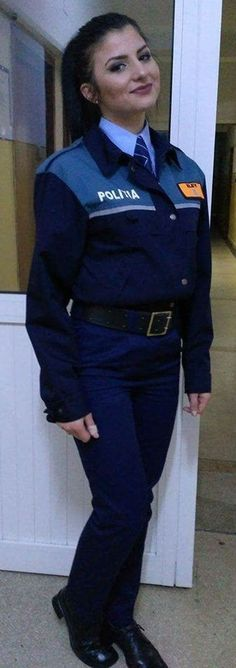 https://flic.kr/p/TC1duB | Police Student Dressed In Her Uniform