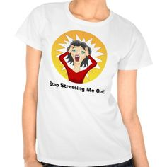 Stressed Out Woman Cartoon