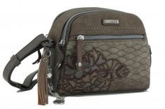 Blätter Stickerei braun kimmidoll Schultertasche Anhänger - Bags & more Backpacks, Bags, Style, Fashion, Embroidery, Get Tan, Handbags, Swag, Moda