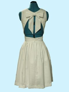 Open back Cool Summer Dress by AnnabelanRuby on Etsy, $190.00
