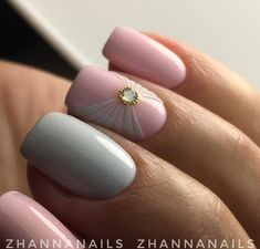 Маникюр | Ногти Sassy Nails, Trendy Nails, Cute Nails, Toe Nail Art, Easy Nail Art, Glam Nails, Diy Nails, Square Gel Nails, Nails Now