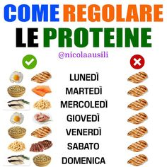 "Nicola Ausili 🇮🇹 su Instagram: ""↗️ Salva e commenta il post ⤵️ ➖ ▶️ SEGUI ✅ @nicolaausili ⬅️ ➖ 🔹Le fonti proteiche alimentari sono molte: gli alimenti che ne contengono di più…"" Sugar Detox, Nutrition Information, Healthy Weight, Ketogenic Diet, Meal Planning, Healthy Lifestyle, Lose Weight, Healthy Eating, Healthy Recipes"