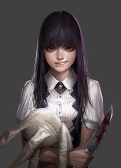 Alice, Dongho Kang on ArtStation at https://www.artstation.com/artwork/Ew9wK