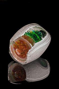 "Jon Goldberg, Artist, Geode #8, 2013, 8""h x 11""w x 8""d, Photo: Jon Goldberg #ArtonTap #PurelyInspiration"