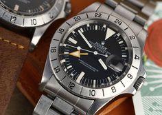 Rolex Explorer II #Rolex #Explorer #1655 #1978 #steel #plexiglass #steinermaastricht