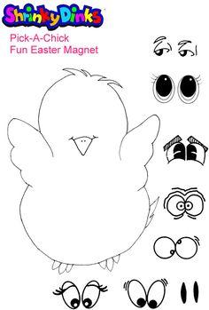 chick pattern - felt? :)