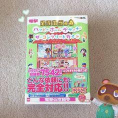 """どうぶつの森本を買った この本はすごいだよ 日本語から英語で翻訳をしてみたちょっと難しいだけど楽しかった どうぶつの森が好きだったらこの本をオススメだよ Here's one of the books I bought recently! It's called """"Animal Crossing Happy Home Designer: The Complete Guide""""  It's filled with so many QR codes and information about HHD it's amazing! I'll be uploading a full review and flip through of the book on my YouTube channel Meivu soon!!  I've also tried translating some from Japanese to English which has been quite fun cos it's nice to see the original character names…"""