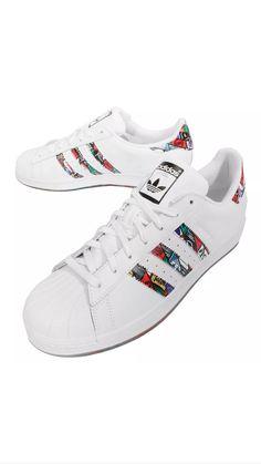 best website 92e2a 4bd4f Adidas Originals Superstar Tongue Label White Mens Casual Shoe Sneakers  S79390 Ropa Informal Masculina, Superestrella