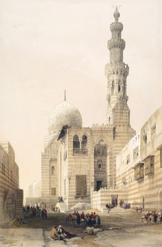 Egypt, David Roberts :::: PINTEREST.COM christiancross ::::