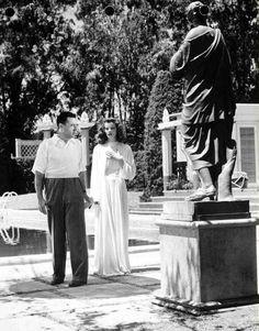 George Cukor and Kathrine Hepburn, The Philadelphia Story
