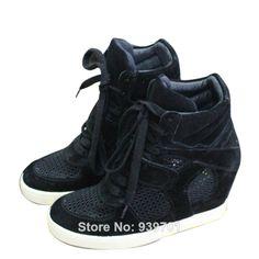 $128.00  Ash Bowie Womens Wedge Sneaker Mesh