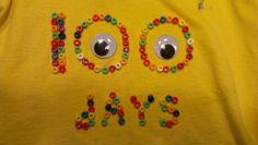 100 day t-shirt