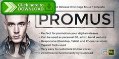[ThemeForest]Free nulled download Promus - Music Album Release / DJ / Band / Musician Onepage Muse Template from http://zippyfile.download/f.php?id=26752 Tags: adobe muse, album, artist, digital distribution, digital release, dj, ecommerce, muse template, muse theme, music, music band, parallax, podcast, promo, single