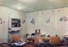 Colour photographs of the Hindenburg interior. - Imgur