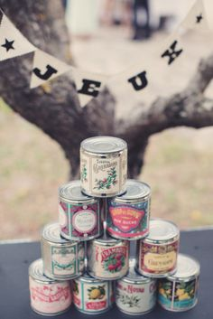 Use vintage tons & make candles for favors Wedding Games, Diy Wedding, Wedding Day, Inspiration For Kids, Wedding Inspiration, Sweet Table Decorations, Carnival Wedding, Carnival Themes, Event Themes