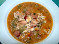 Traditional Old Southern Chicken and Sausage Gumbo Recipe Cajun Recipes, Crockpot Recipes, Soup Recipes, Cooking Recipes, Gumbo Recipes, Cajun Cooking, Cajun Food, New Orleans Gumbo, Cajun Gumbo