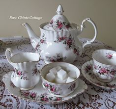 Rose Chintz Cottage: Victoria Day Tea With Royal Albert