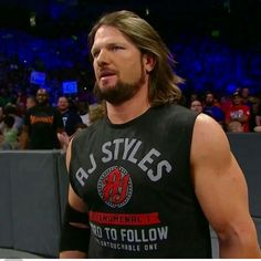 Aj styles Aj Styles Wwe, Allen Jones, Ring Of Honor, Yesterday And Today, Fashion Quotes, Sexy Men, Videos, Wrestling, Mens Tops