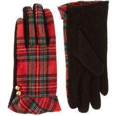 hamilton tartan gloves
