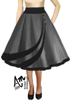 1950s Circle Twirl Skirt by Amber Middaugh (currently in voting - click the link and vote YES to give it a shot at production) Thanks!--- Save 37% at ChicStar.com --Coupon: AMBER37