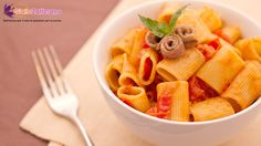 > summer brunch | short pasta with cherry tomato & anchovies