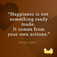 Happiness quote from the Dalai Lama