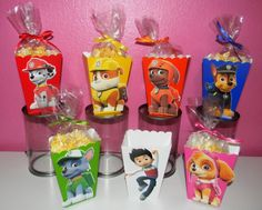 Paw Patrol Snack Boxes Set of 10 by YourPartyShoppe on Etsy (snack box party) Paw Patrol Birthday Theme, Paw Patrol Party, 4th Birthday Parties, 3rd Birthday, Cumple Paw Patrol, Paw Patrol Characters, Party Themes, Popcorn Boxes, Candy Boxes