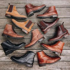@evanholahan showing his impressive @thursdayboots collection. Which one is your favorite? #boots #thursdayboots #chelseaboots