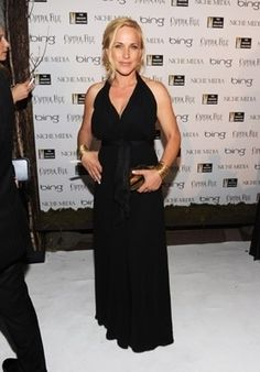 Patricia Arquette helped Greenpeace raising funds for the new Rainbow Warrior.