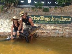 Ashley & Chris from gator boys
