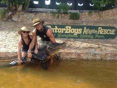 Ashley & Chris from gator boys