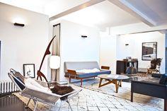 constance and laurent paris loft - living room