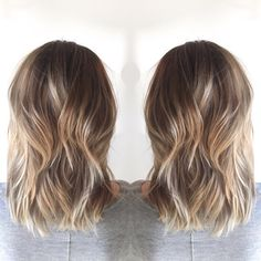 Deeps roots and some Sunlights balayage