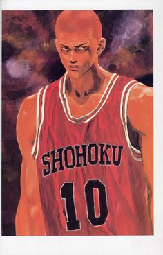 ch 277: FanBook & ColorBook Manga Drawing, Manga Art, Manga Anime, Anime Art, Comics Illustration, Illustrations, Slam Dunk Manga, Inoue Takehiko, Japanese Artwork
