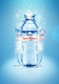 Water Bottle Label Design must have a value proposition which will make the bottle worth buying. Water Packaging, Water Branding, Bottle Packaging, Agua Mineral, Mineral Water, Custom Water Bottles, Water Bottle Labels, Label Design, Packaging Design
