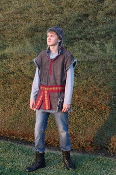 Kristoff Themed Costume From Disney's Frozen, Renaissance Faire Kristoff Costume From Frozen