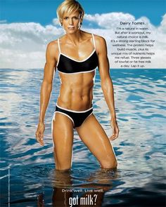 dara torres - I want to learn how to really swim (no doggie paddles or faking it). Just look at Dara!