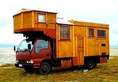 New Zealand house truck