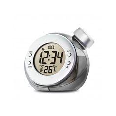 Despertador, termómetro y calendario. El Despertador H2O utiliza la última tecnología de H2O para su funcionamiento, funciona con agua. ¿Un reloj de agua