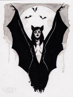 Dark Art Drawings, Art Drawings Sketches, Drawing Faces, Art Illustrations, Arte Obscura, Vampire Art, Arte Sketchbook, Goth Art, Tatoo Art