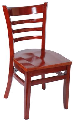 ASF-5050 Wood Ladder Back Chair