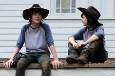 TIL Chandler Riggs' stunt double is a 29 year old woman.