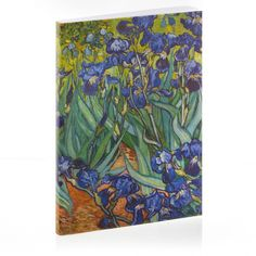 Van Gogh's Irises Sketchbook