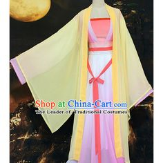 Ancient Chinese Asian Costume Clothing Cosplay Costumes Store Buy... ❤ liked on Polyvore featuring costumes, cosplay costumes, cosplay halloween costumes and role play costumes