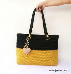Best 11 Crochet Simple Tote Bag for Beginners - Jestoni X Crochet Simple, Free Crochet Bag, Crochet Tote, Crochet Handbags, Crochet Purses, Crochet Bag Tutorials, Bag Pattern Free, Straw Handbags, Purse Patterns