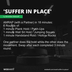 Wod Workout, Spartan Workout, Wods Crossfit, Rogue Fitness, Fit Board Workouts, Yoga For Men, Plank Hold, Yoga Videos, Gym
